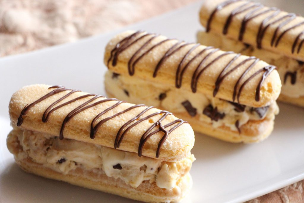 Tiramisu Ice-Cream Sandwiches