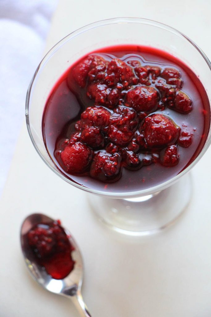 Quick Raspberry Compote