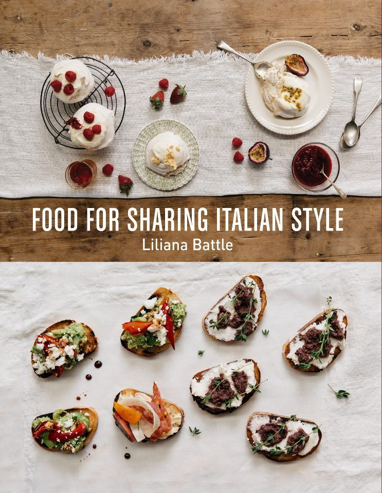 My New Book!! Food for Sharing – Italian Style