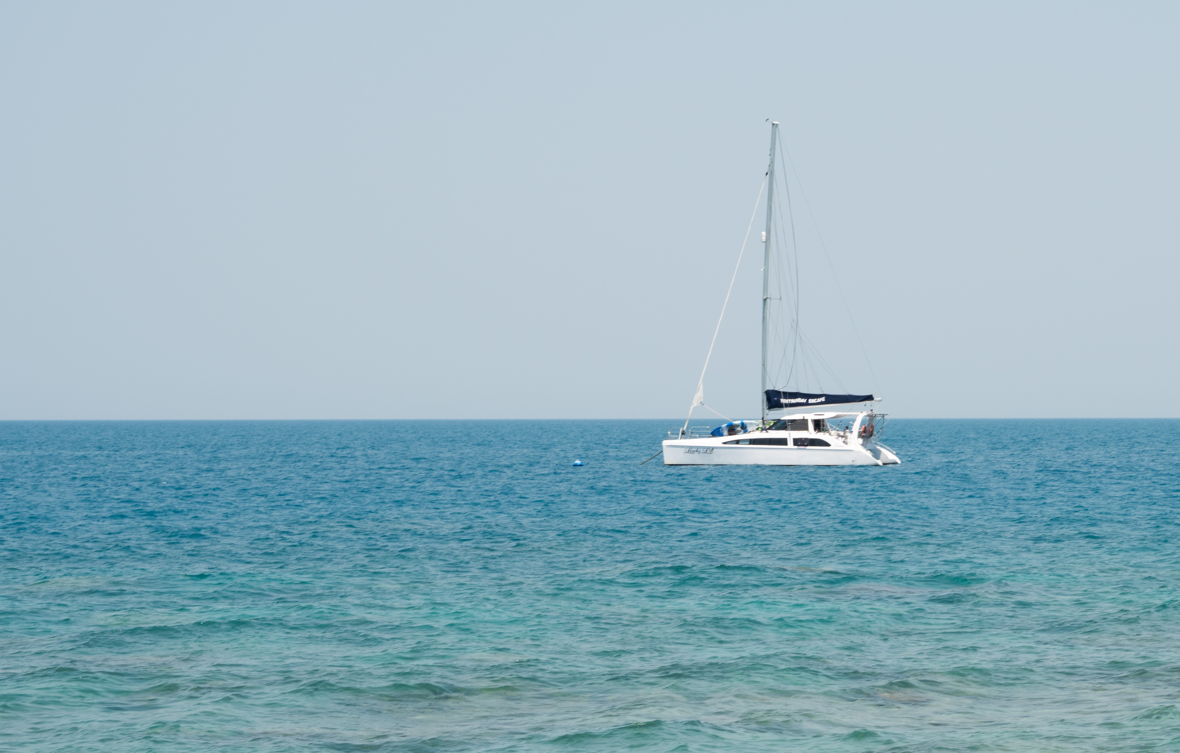 Cruising the Whitsundays - Liliana Battle